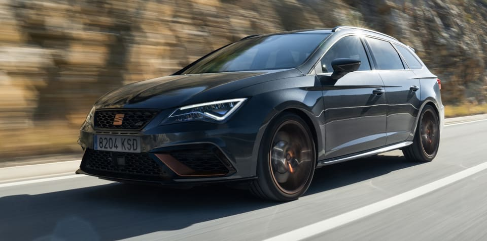 Seat Leon Cupra R ST revealed for Europe