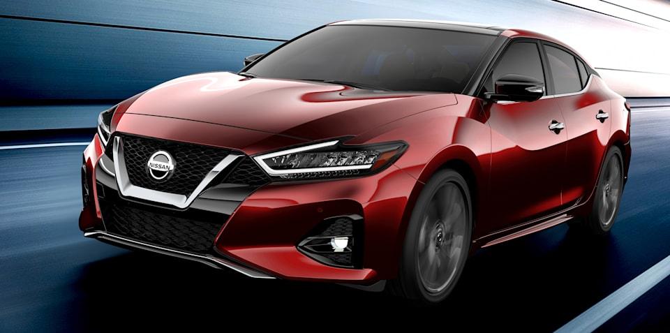 2019 Nissan Maxima revealed ahead of LA debut