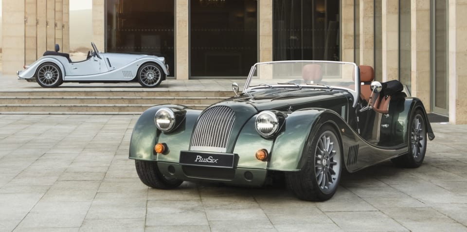 Morgan sold off, new Plus Six revealed
