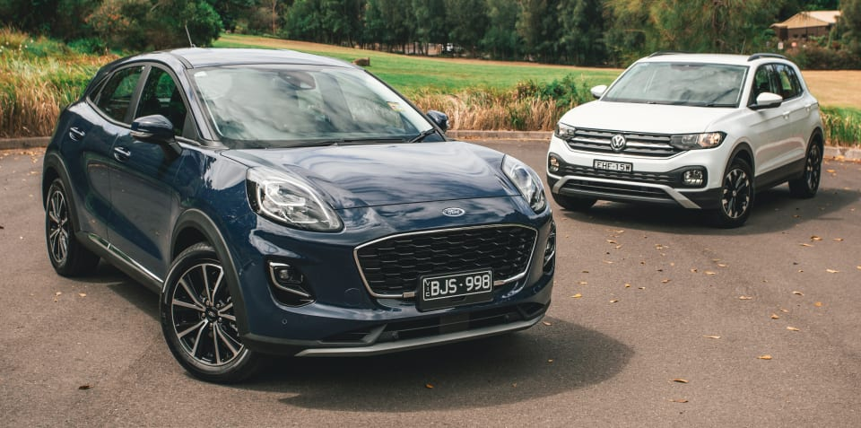 Small SUV review: 2020 Ford Puma v Volkswagen T-Cross comparison