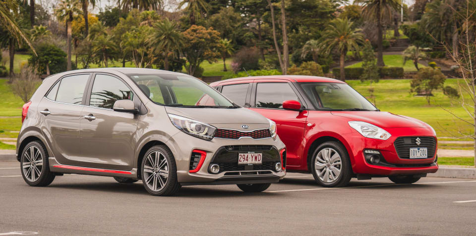 2019 Suzuki Swift GL Navigator with Safety Pack v Kia Picanto GT-Line