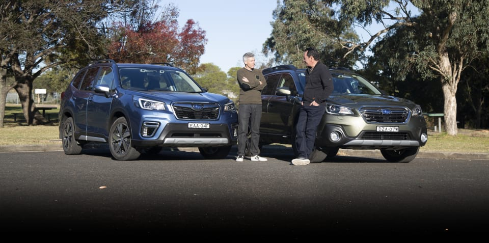 2019 Subaru Forester 2.5i-S v Outback 2.5i Premium comparison