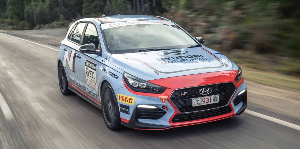 Targa Tasmania 2019: Lotus scores first win, Hyundai causes major upset