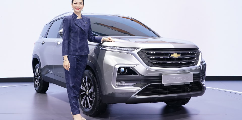 2020 Chevrolet Captiva revealed in Bangkok