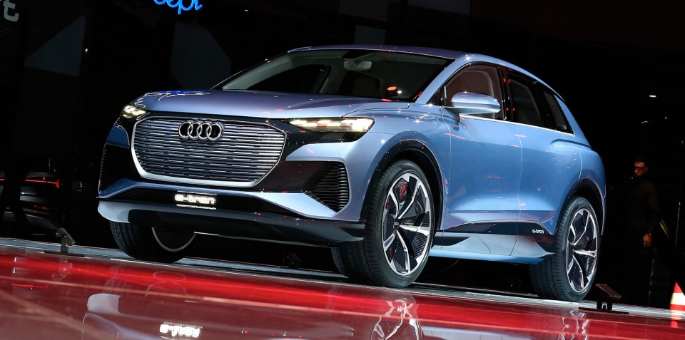 Audi Q4 e-tron: compact electric SUV coming soon