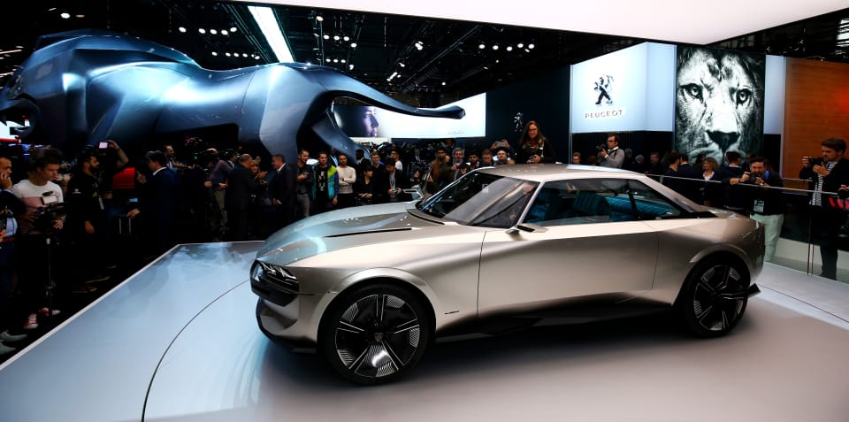 Peugeot is toying with making e-Legend concept a reality