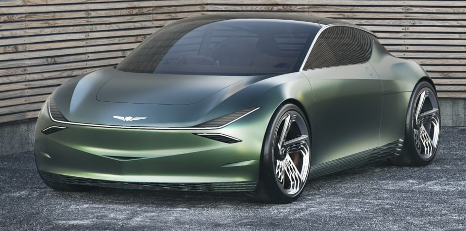 Genesis Mint concept points to electric city car