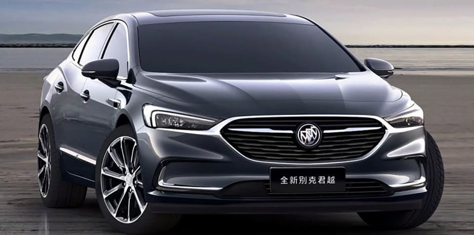 2020 Buick LaCrosse revealed for China
