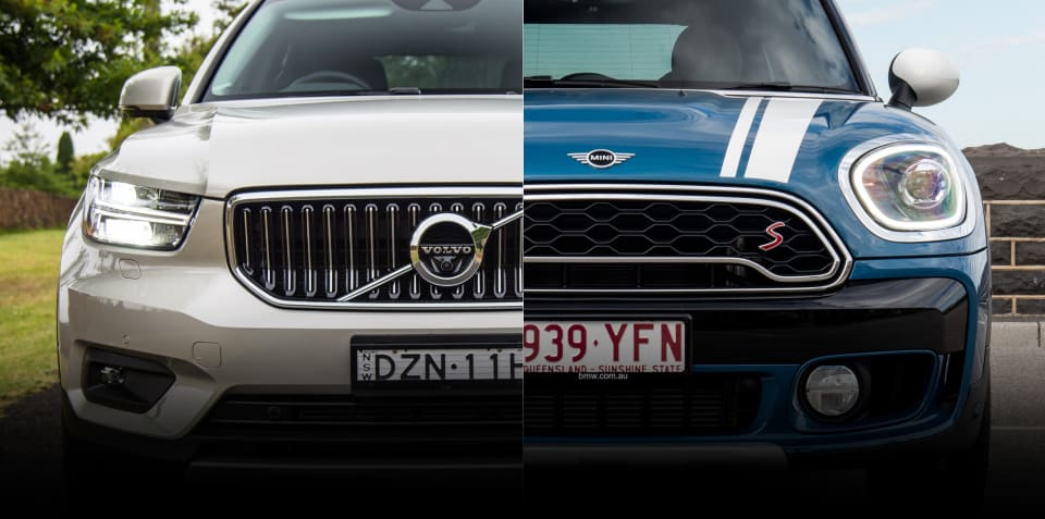 Spec shootout: Volvo XC40 Inscription v Mini Countryman Cooper S comparison