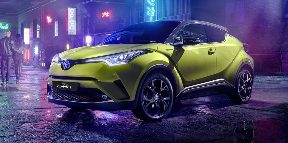 Toyota C-HR Neon Lime powered by JBL revealed, not for Oz