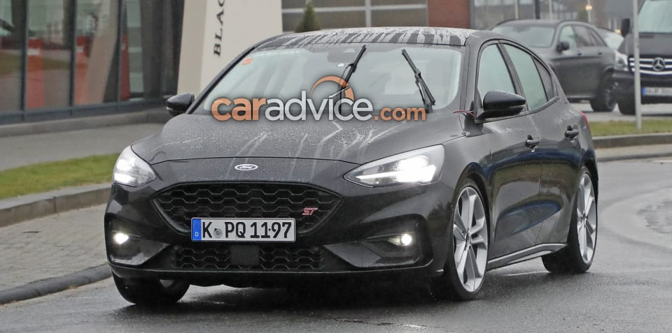 2019 Ford Focus ST spied undisguised