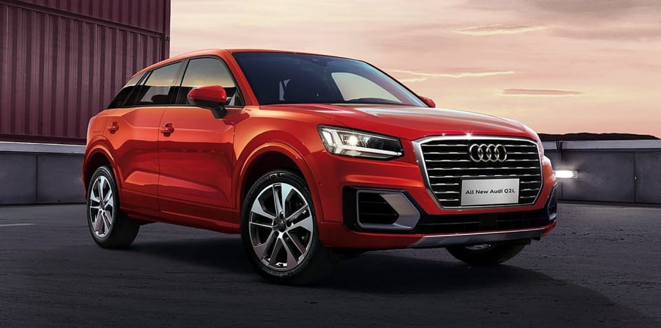 Audi Q2L revealed for China