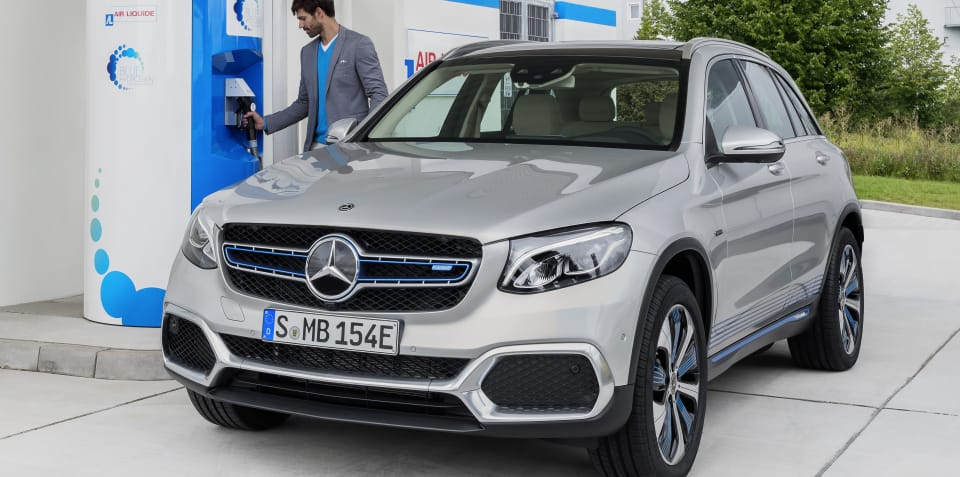 Mercedes-Benz GLC F-Cell now available in Europe