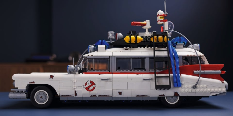 Lego Creator's Ghostbusters ECTO-1 kit: $300 supersized kit in Australia from November 15