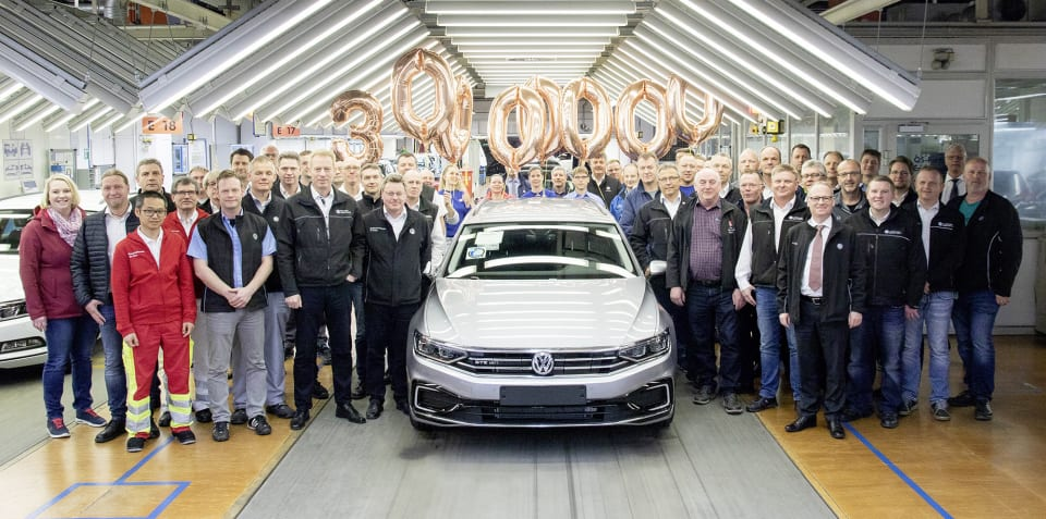 Volkswagen Passat: 30 millionth vehicle produced