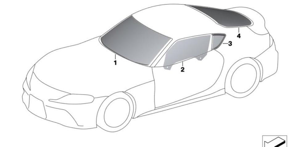 2019 Toyota Supra: Specs leak offers an inside look