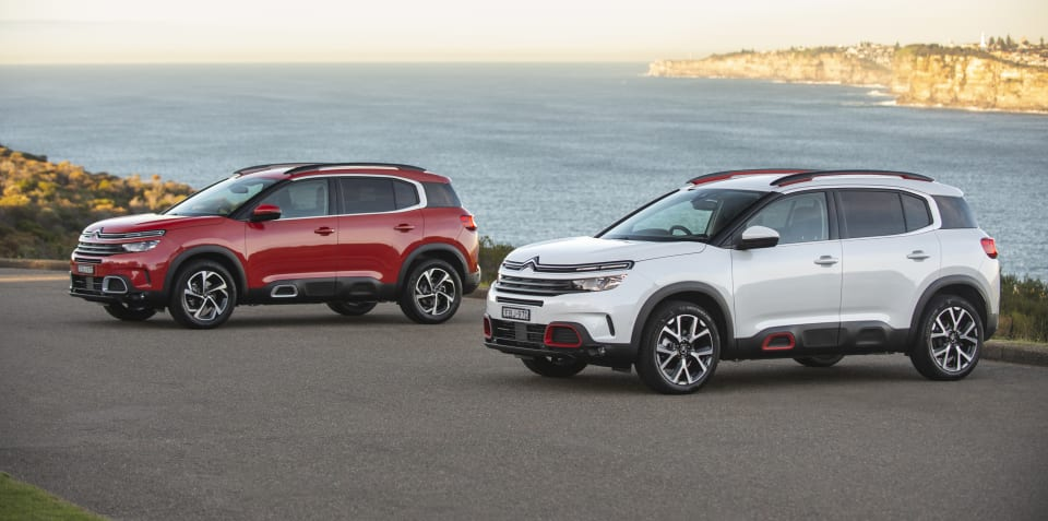 2019 Citroen C5 Aircross pricing and specs