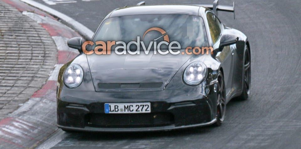 2020 Porsche 911 GT3 spied at the Nurburgring
