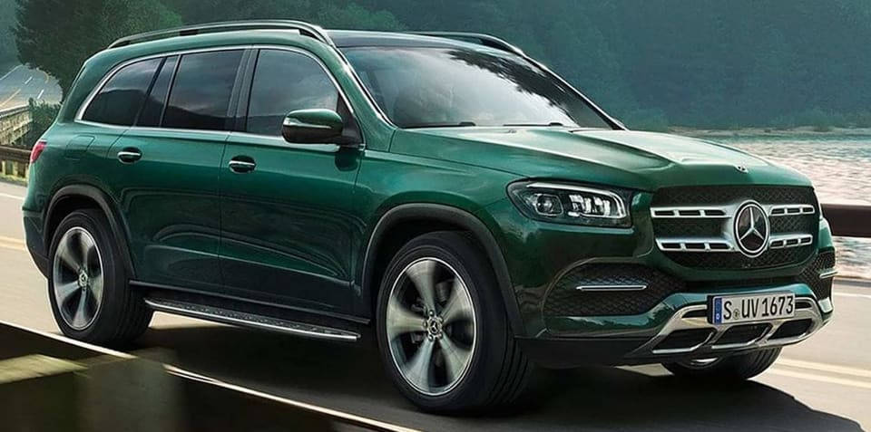 2020 Mercedes-Benz GLS leaked