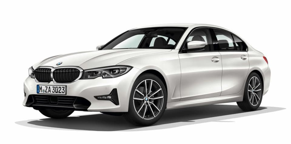 2019 BMW 3 Series leaked via online configurator
