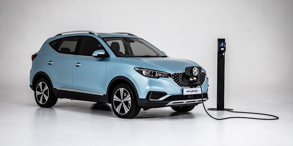 Australia's cheapest electric car, the MG ZS EV, sold out until next year