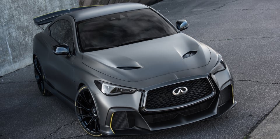 Infiniti Project Black S revealed in full
