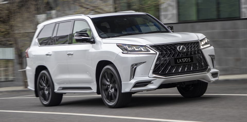Lexus LX570 S arrives from $168,089