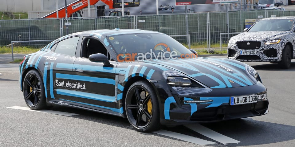 Porsche Taycan powertrain details revealed