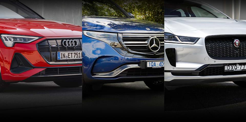 2021 Audi e-tron v Mercedes-Benz EQC v Jaguar I-Pace comparison: Spec battle