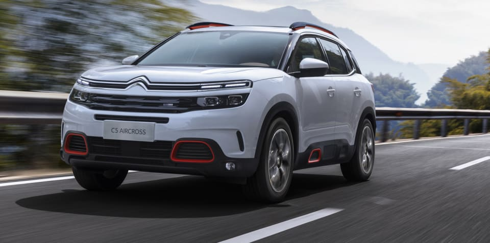 2017 Citroen C5 Aircross revealed - UPDATE: Australian launch under consideration
