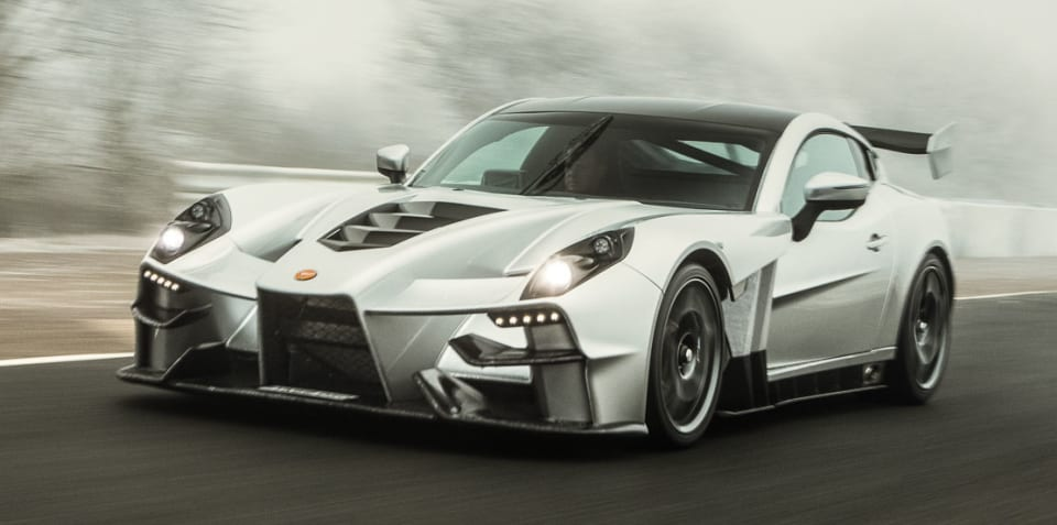 Ginetta supercar revealed