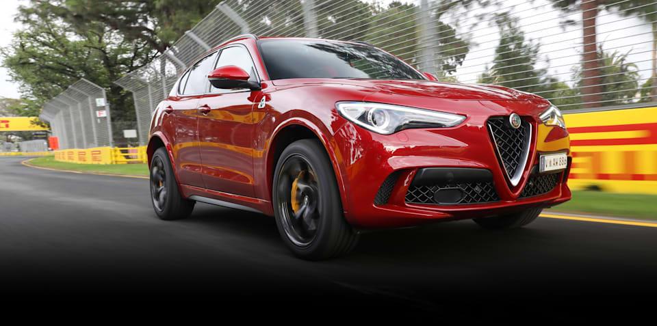 Alfa Romeo Stelvio Quadrifoglio review: Quick track drive