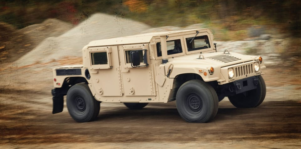 Humvee maker heading for sale - report