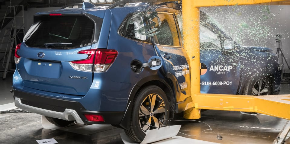 2019 Subaru Forester scores five-star ANCAP rating