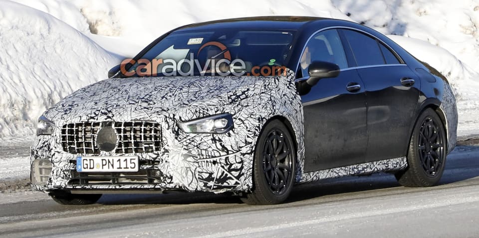 2020 Mercedes-AMG CLA45 spied