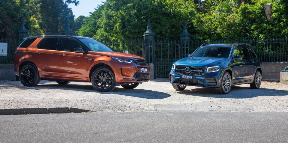 Premium SUV review: 2020 Mercedes-Benz GLB v Land Rover Discovery Sport comparison