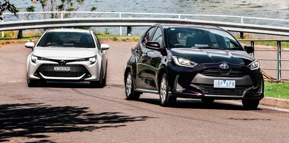 Small car value review: 2020 Toyota Yaris v Toyota Corolla comparison