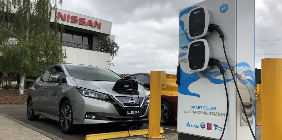 Free fuel for life: Nissan and CSIRO launch solar-powered EV charging station trial