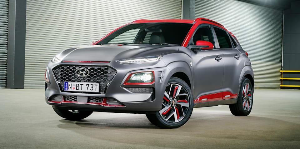 Hyundai Kona Iron Man Edition on sale from $39,990