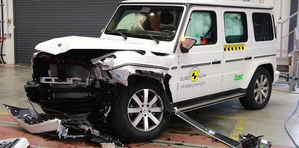 CR-V, G-Class, Tarraco score five stars in Euro NCAP testing