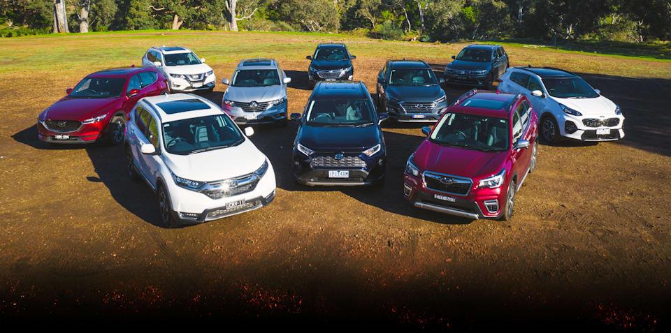 Medium SUV off-road test: Toyota RAV4, Holden Equinox, Mazda CX-5, Renault Koleos, Subaru Forester, Hyundai Tucson, Kia Sportage, Volkswagen Tiguan, Honda CR-V and Nissan X-Trail