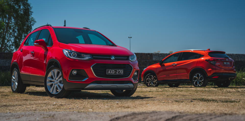 2019 Holden Trax LTZ v Honda HR-V RS comparison