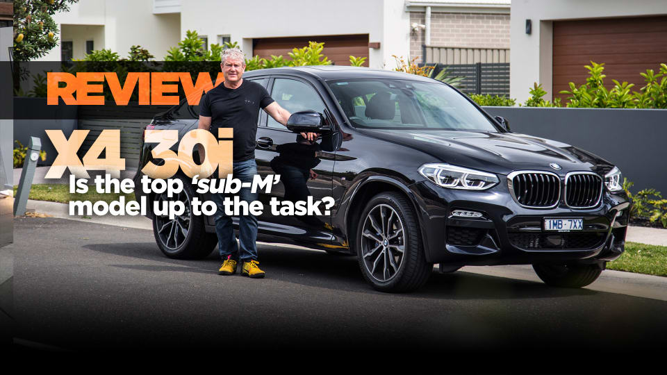 2019 BMW X4 xDrive30i M Sport review: is it enough?