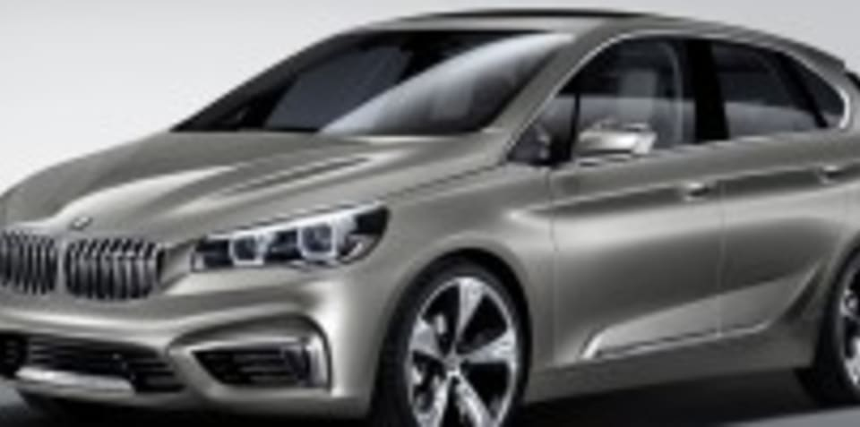 BMW Concept Active Tourer debuts new front-wheel-drive platform