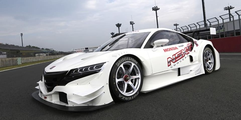 NSX Concept-GT: 2014 racer revealed at Suzuka