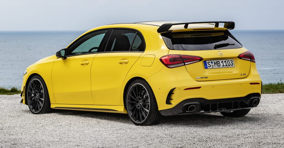 2019 mercedes amg a35 a near match for current a45. Black Bedroom Furniture Sets. Home Design Ideas