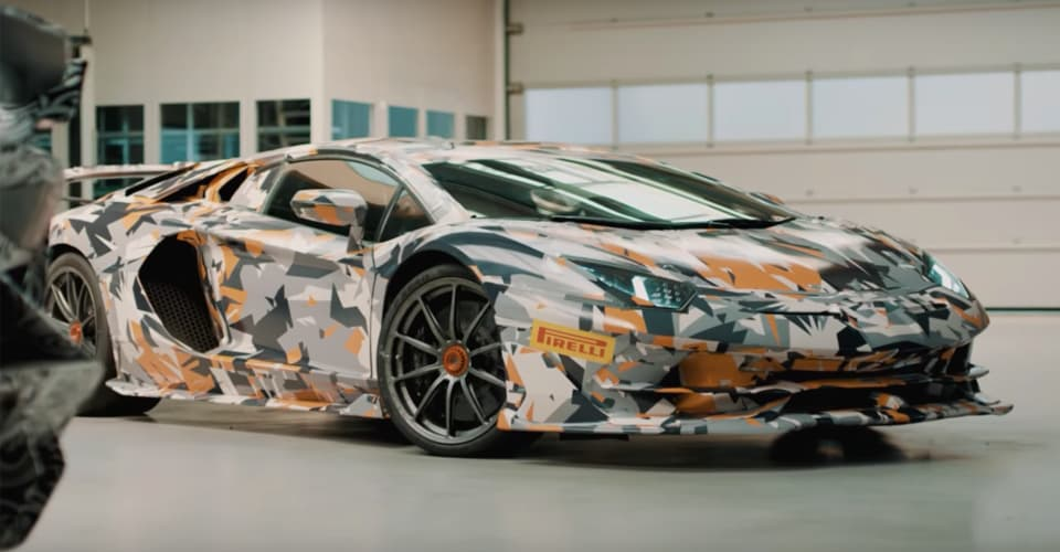 Lamborghini Aventador Svj To Have Best Weight To Power Ratio