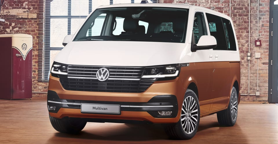 2020 Volkswagen Transporter Multivan Caravelle Revealed