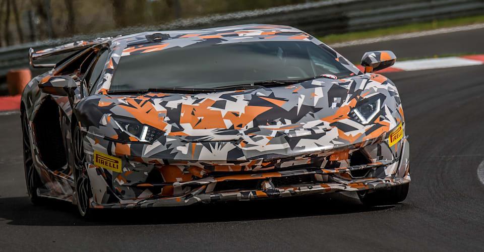 2019 Lamborghini Aventador Svj Sets New Nurburgring Record Caradvice
