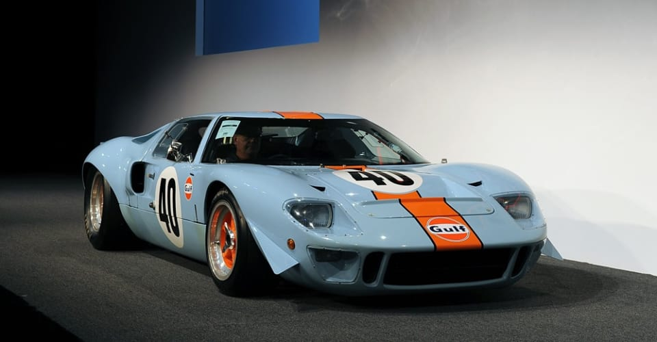 1968 Ford GT40 sets auction record with US$11m purchase
